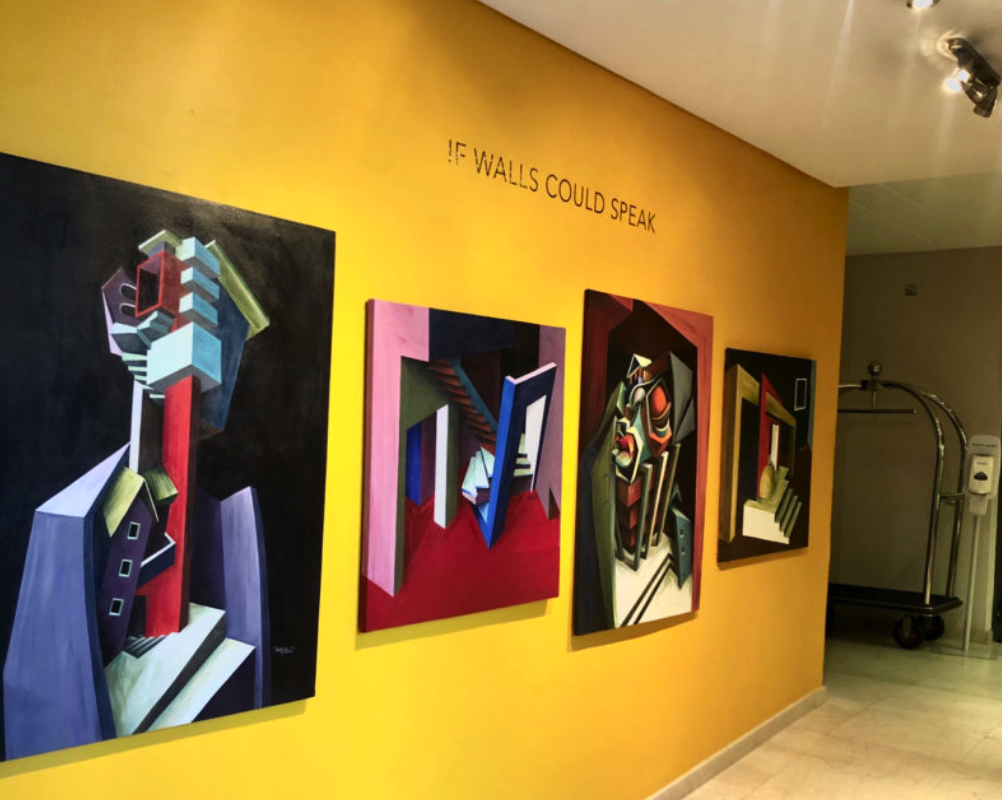 EXHIBITION: IF WALLS COULD SPEAK BY PATRICK AKPOJOTOR